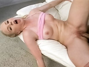 Big dick lover gets her 18 yr old face and pussy fucked hard