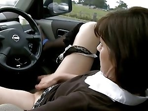 Horny Milf Has A Play At Her Favourite Little Spot !