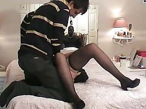 husband enjoy his wife fucking 2 (cuckold)