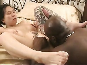 Japanese Slut Gets Black Cock in Vegas - Cireman